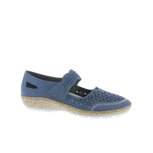 Rieker 3.0 jeansblå