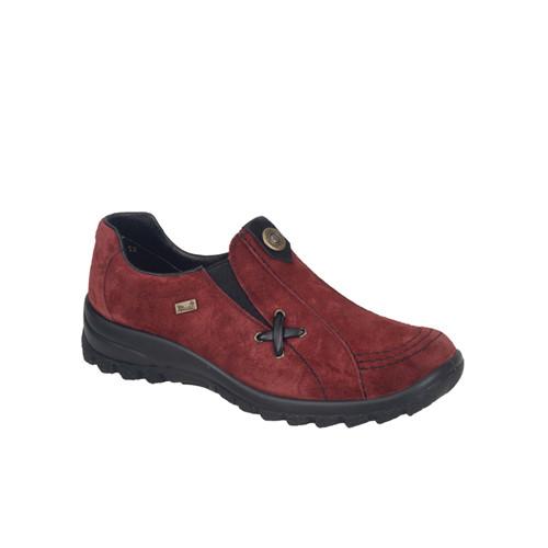 Rieker promenadsko röd
